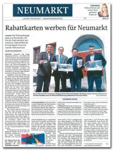 Neumarkt-City-Card-Zeitung