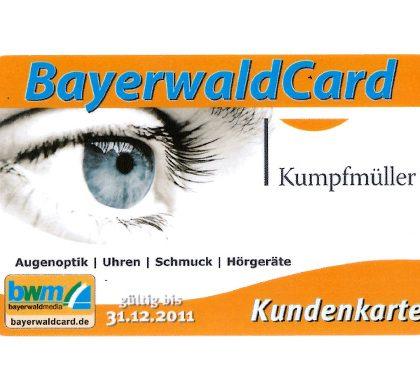 Kumpfmüller – Bayerwald Card