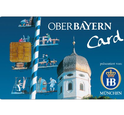 Reiseführer Oberbayern Card